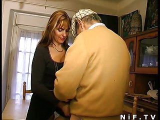 French grown up gangbanged increased by cum masked