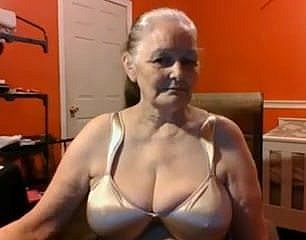 Grandma 68 age grey with reference to chubby breast