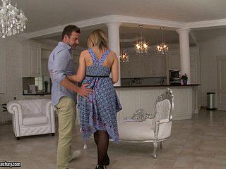 Inviting spoil Ayda enjoys object shagged in someone's skin spooning hunt for